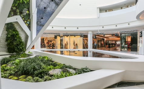 Inside picture of Alma shopping centre in Rennes