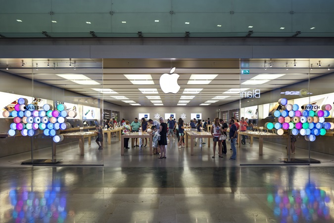 picture of the apple store at parquesur