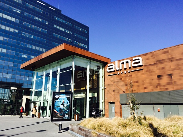Picture of Rennes Alma shopping centre's entrance