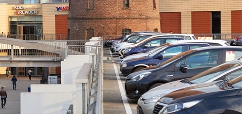Parkende Autos Köln Arcaden