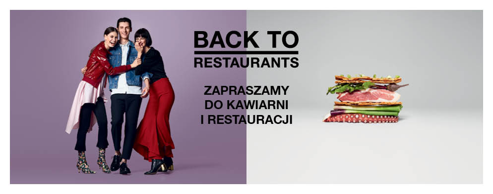 Zapraszamy do strefy restauracji