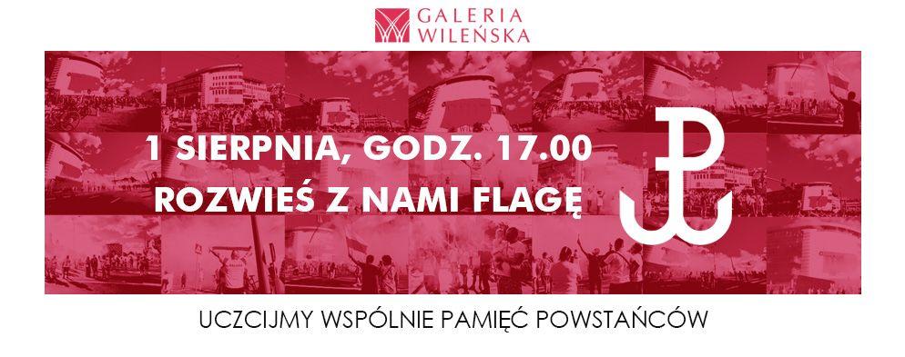 """1 sierpnia Godzina """"W"""" przed Galerią Wileńską"""