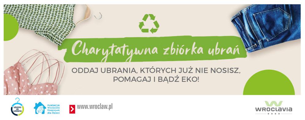 Zbiórka ubrań we Wroclavii