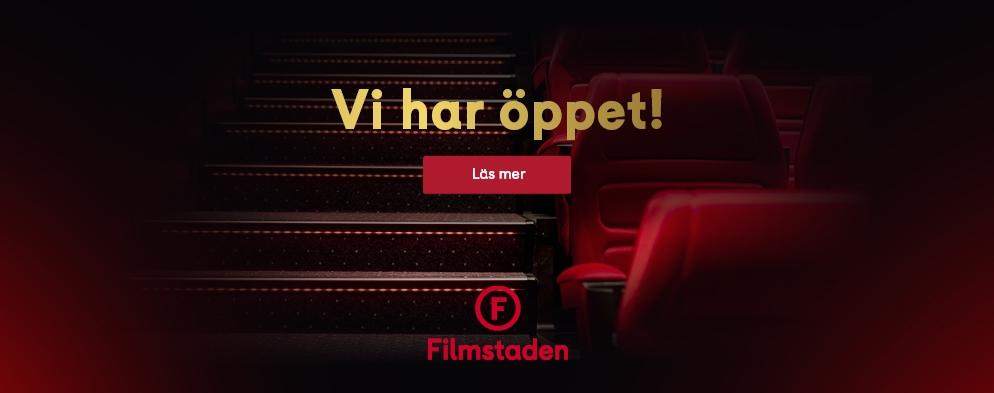 Filmstaden öppnar i juni