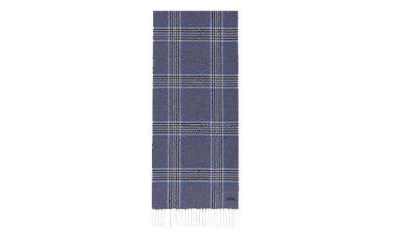 Double Sided Check Scarf