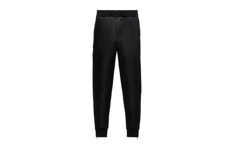 Technical Fleece Trousers, Prada