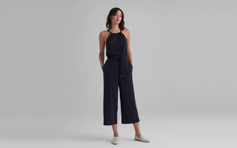 Elasticated Jumpsuit, Club Monaco