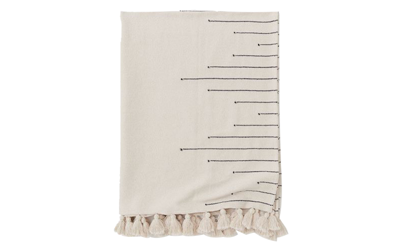 Tasselled Blanket, H&M Home