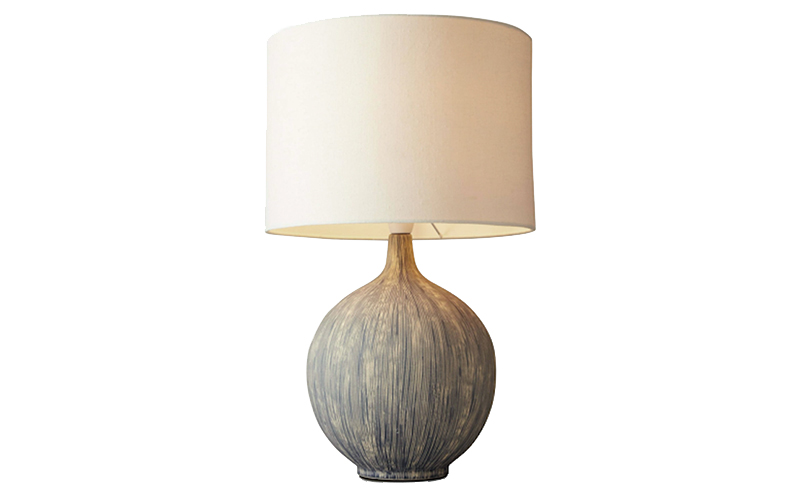 Ebony Table Lamp, John Lewis and Partners