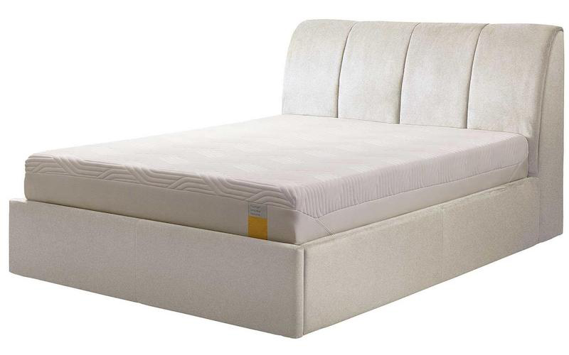 Harrington Ottoman Super King Bed, £1,449 Tempur