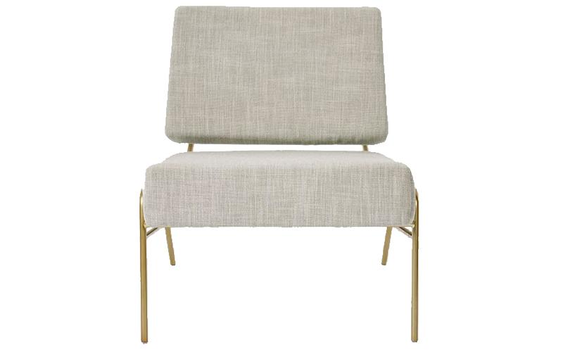 Wire Frame Slipper Chair, West Elm