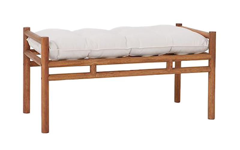 Meranti Wood Bench H&M Home