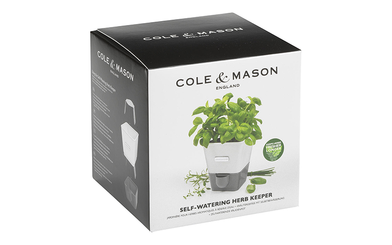 Cole & Mason Potted Herb Keeper John Lewis and Partners