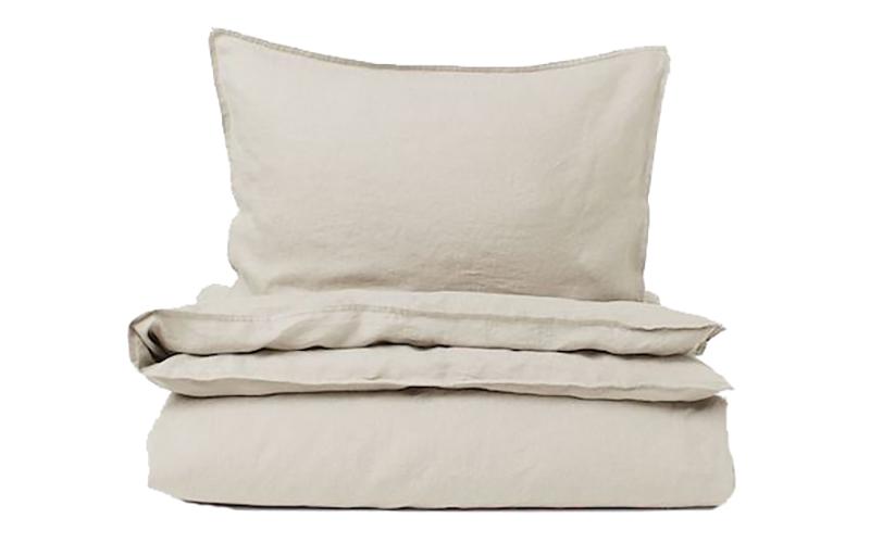 Washed Linen Duvet Cover Set, H&M Home