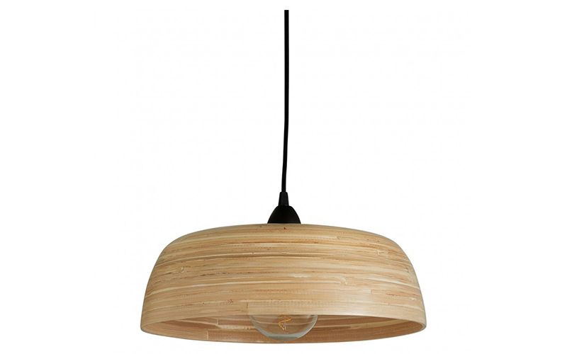 Moxley Natural Bamboo Easy-To-Fit Ceiling Shade, Habitat