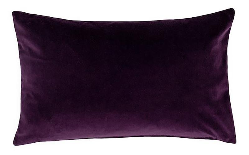 Velvet Cushion, Heal's