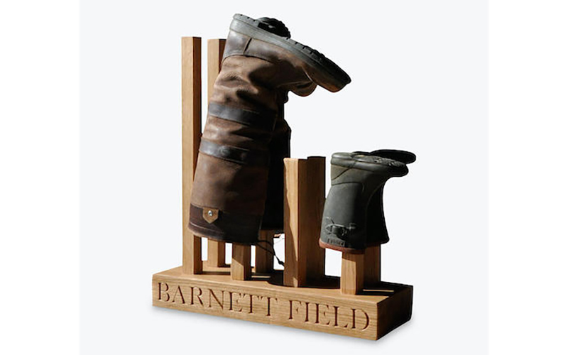 The Oak And Rope Company Personalised Wellie Boot Holder, John Lewis & Partners