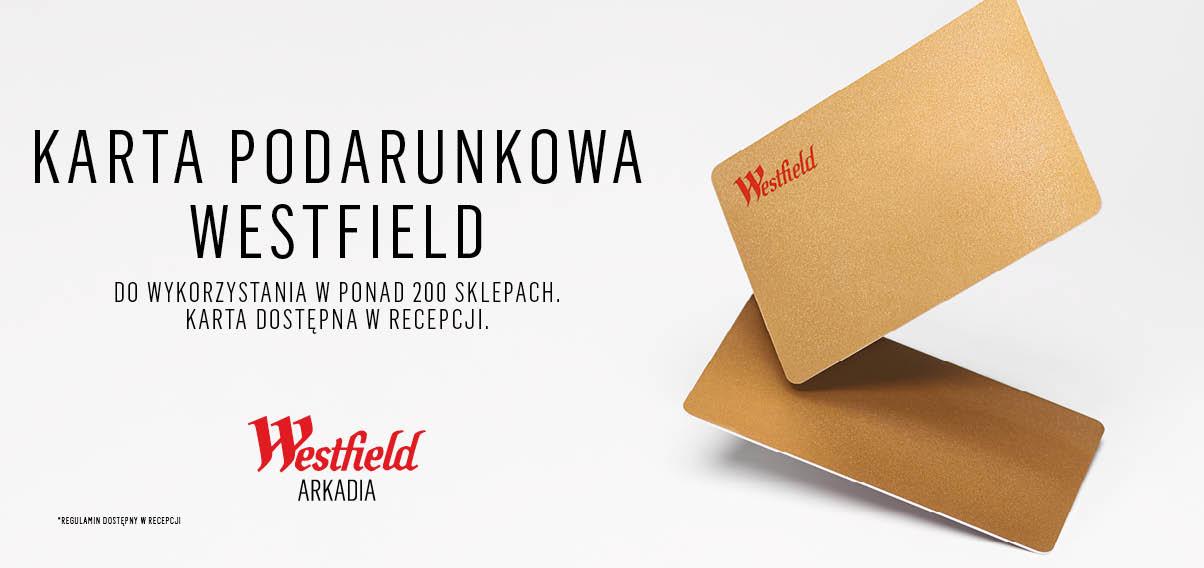 Karta Podarunkowa Westfield Arkadia