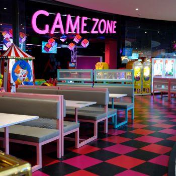 Game Zone i Westfield Mall of Scandinavia