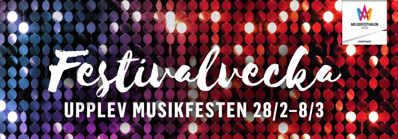 Fesitvalvecka upplev musikfesten 28/2 - 8/3
