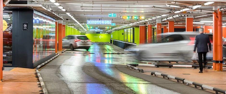 Parking at Mall of Scandinavia