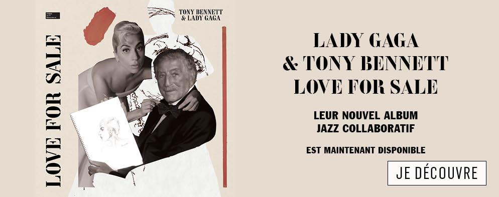 LOVE FOR SALE – LE NOUVEL ALBUM DE LADY GAGA ET TONY BENNET