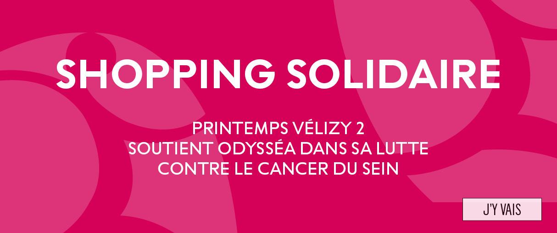 SHOPPING SOLIDAIRE AU PROFIT DE LA RECHERCHE CONTRE LE CANCER DU SEIN